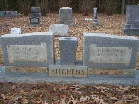 KITCHENS, LUTHER C - Columbia County, Arkansas | LUTHER C KITCHENS - Arkansas Gravestone Photos