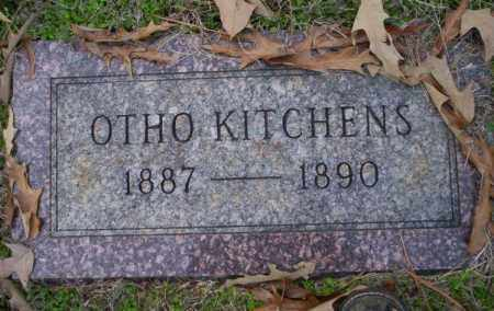 KITCHENS, OTHO - Columbia County, Arkansas | OTHO KITCHENS - Arkansas Gravestone Photos