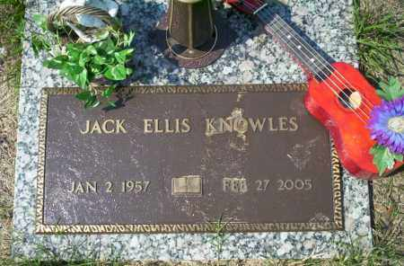 KNOWLES, JACK ELLIS - Columbia County, Arkansas | JACK ELLIS KNOWLES - Arkansas Gravestone Photos