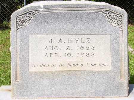 KYLE, JAMES A - Columbia County, Arkansas | JAMES A KYLE - Arkansas Gravestone Photos