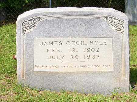 KYLE, JAMES CECIL - Columbia County, Arkansas | JAMES CECIL KYLE - Arkansas Gravestone Photos