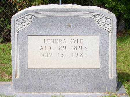 KYLE, LENORA - Columbia County, Arkansas | LENORA KYLE - Arkansas Gravestone Photos