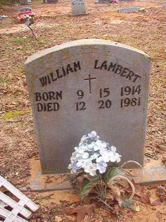 LAMBERT, WILLIAM - Columbia County, Arkansas | WILLIAM LAMBERT - Arkansas Gravestone Photos