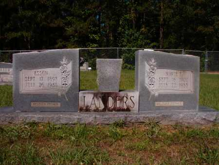 LANDERS, NAVIE E - Columbia County, Arkansas | NAVIE E LANDERS - Arkansas Gravestone Photos