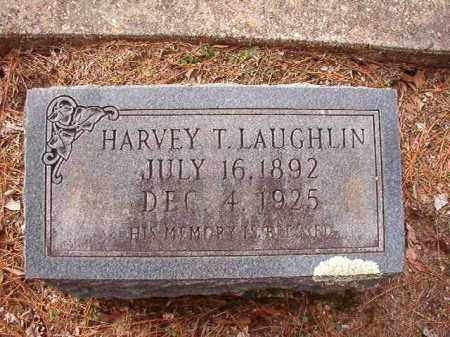 LAUGHLIN, HARVEY T - Columbia County, Arkansas | HARVEY T LAUGHLIN - Arkansas Gravestone Photos