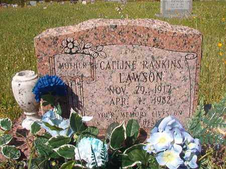RANKINS LAWSON, CALLINE - Columbia County, Arkansas | CALLINE RANKINS LAWSON - Arkansas Gravestone Photos