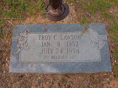 LAWSON, TROY C - Columbia County, Arkansas | TROY C LAWSON - Arkansas Gravestone Photos