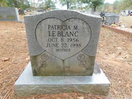 LEBLANC, PATRICIA M - Columbia County, Arkansas | PATRICIA M LEBLANC - Arkansas Gravestone Photos
