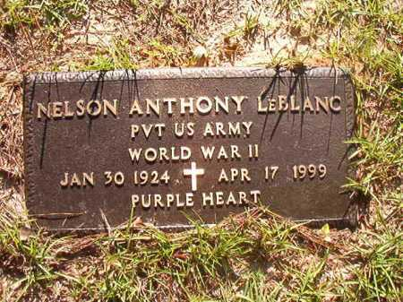 LEBLANC (VETERAN WWII), NELSON ANTHONY - Columbia County, Arkansas | NELSON ANTHONY LEBLANC (VETERAN WWII) - Arkansas Gravestone Photos