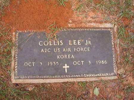 LEE, JR (VETERAN KOR), COLLIS - Columbia County, Arkansas | COLLIS LEE, JR (VETERAN KOR) - Arkansas Gravestone Photos