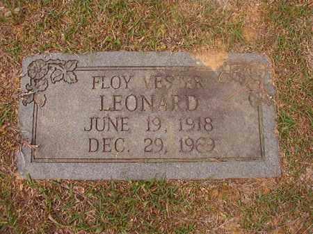 LEONARD, FLOY VESTER - Columbia County, Arkansas | FLOY VESTER LEONARD - Arkansas Gravestone Photos