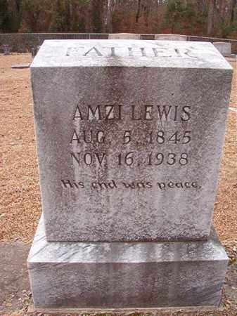 LEWIS, AMZI - Columbia County, Arkansas | AMZI LEWIS - Arkansas Gravestone Photos