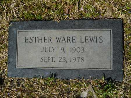 LEWIS, ESTHER - Columbia County, Arkansas | ESTHER LEWIS - Arkansas Gravestone Photos
