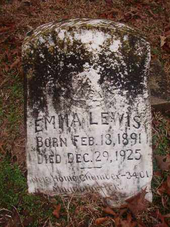 LEWIS, EMMA - Columbia County, Arkansas | EMMA LEWIS - Arkansas Gravestone Photos