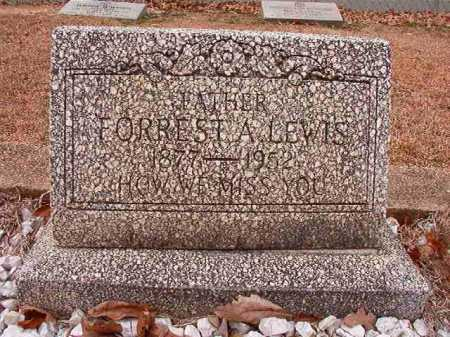LEWIS, FORREST A - Columbia County, Arkansas | FORREST A LEWIS - Arkansas Gravestone Photos