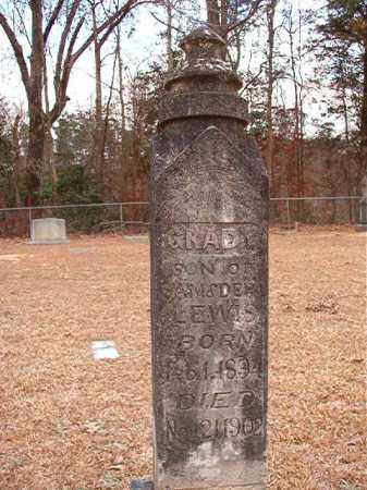LEWIS, GRADY - Columbia County, Arkansas | GRADY LEWIS - Arkansas Gravestone Photos