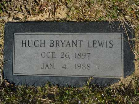 LEWIS, HUGH BRYANT - Columbia County, Arkansas | HUGH BRYANT LEWIS - Arkansas Gravestone Photos