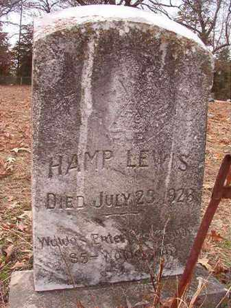 LEWIS, HAMP - Columbia County, Arkansas | HAMP LEWIS - Arkansas Gravestone Photos