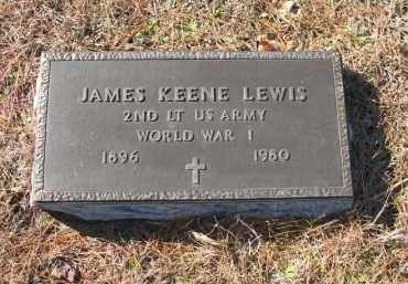 LEWIS (VETERAN WWI), JAMES KEENE - Columbia County, Arkansas | JAMES KEENE LEWIS (VETERAN WWI) - Arkansas Gravestone Photos