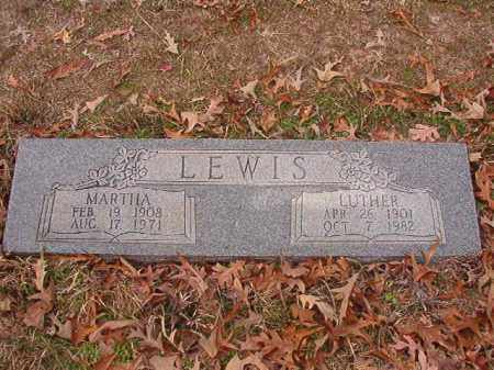 LEWIS, LUTHER - Columbia County, Arkansas | LUTHER LEWIS - Arkansas Gravestone Photos