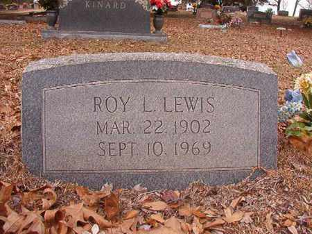 LEWIS, ROY L - Columbia County, Arkansas | ROY L LEWIS - Arkansas Gravestone Photos