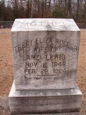 LEWIS, TRECY ELIZA - Columbia County, Arkansas | TRECY ELIZA LEWIS - Arkansas Gravestone Photos