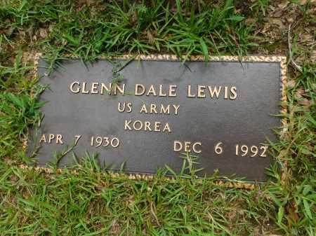 LEWIS (VETERAN KOR), GLENN DALE - Columbia County, Arkansas | GLENN DALE LEWIS (VETERAN KOR) - Arkansas Gravestone Photos