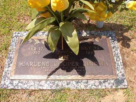 COOPER LINDSEY, PEARLENE - Columbia County, Arkansas   PEARLENE COOPER LINDSEY - Arkansas Gravestone Photos