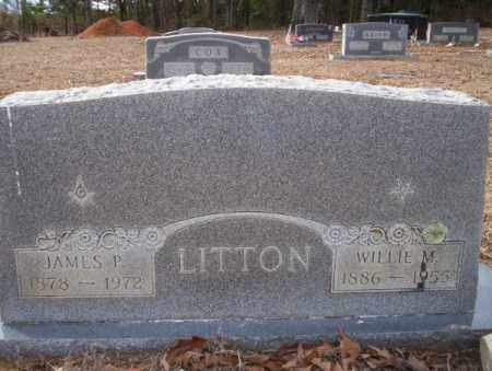 LITTON, JAMES P - Columbia County, Arkansas | JAMES P LITTON - Arkansas Gravestone Photos