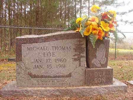 LOE, MICHAEL THOMAS - Columbia County, Arkansas | MICHAEL THOMAS LOE - Arkansas Gravestone Photos