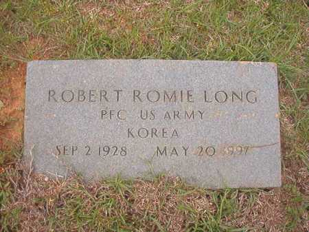LONG (VETERAN KOR), ROBERT ROMIE - Columbia County, Arkansas | ROBERT ROMIE LONG (VETERAN KOR) - Arkansas Gravestone Photos