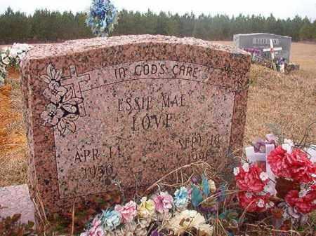 LOVE, ESSIE MAE - Columbia County, Arkansas | ESSIE MAE LOVE - Arkansas Gravestone Photos