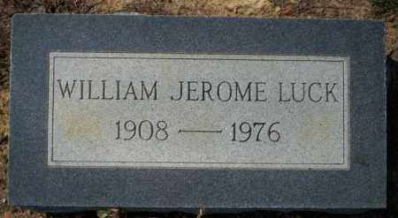 LUCK, WILLIAM JEROME - Columbia County, Arkansas | WILLIAM JEROME LUCK - Arkansas Gravestone Photos