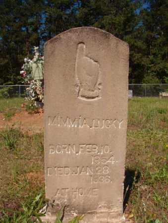 LUCKY, MIMMIA - Columbia County, Arkansas | MIMMIA LUCKY - Arkansas Gravestone Photos