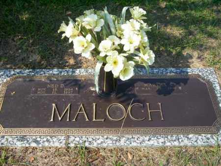 MALOCH, NED D - Columbia County, Arkansas | NED D MALOCH - Arkansas Gravestone Photos