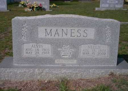 MANESS, ALVIN - Columbia County, Arkansas | ALVIN MANESS - Arkansas Gravestone Photos