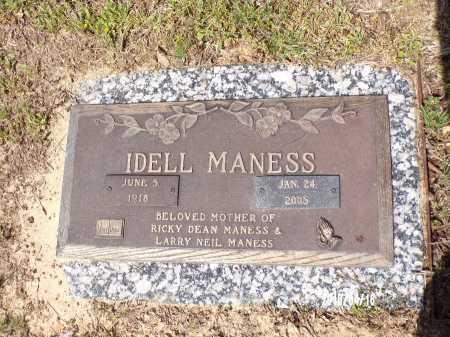 MANESS, IDELL - Columbia County, Arkansas | IDELL MANESS - Arkansas Gravestone Photos