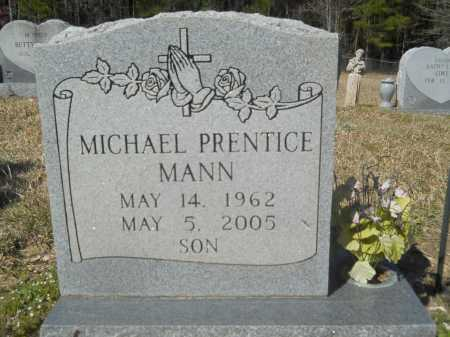 MANN, MICHAEL PRENTICE - Columbia County, Arkansas | MICHAEL PRENTICE MANN - Arkansas Gravestone Photos