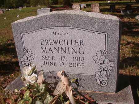 MANNING, DREWCILLER - Columbia County, Arkansas | DREWCILLER MANNING - Arkansas Gravestone Photos