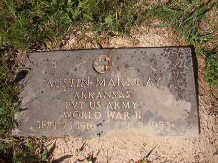 MARKRAY (VETERAN WWII), AUSTIN - Columbia County, Arkansas | AUSTIN MARKRAY (VETERAN WWII) - Arkansas Gravestone Photos