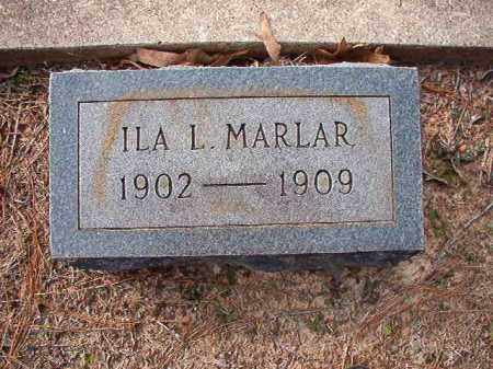 MARLAR, ILA L - Columbia County, Arkansas | ILA L MARLAR - Arkansas Gravestone Photos