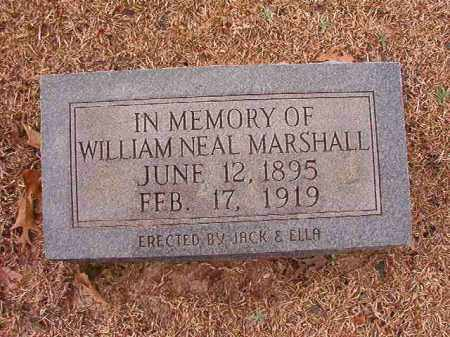 MARSHALL, WILLIAM NEAL - Columbia County, Arkansas | WILLIAM NEAL MARSHALL - Arkansas Gravestone Photos