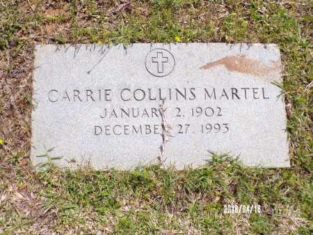 COLLINS MARTEL, CARRIE - Columbia County, Arkansas | CARRIE COLLINS MARTEL - Arkansas Gravestone Photos