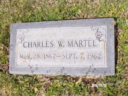 MARTEL, CHARLES W - Columbia County, Arkansas | CHARLES W MARTEL - Arkansas Gravestone Photos