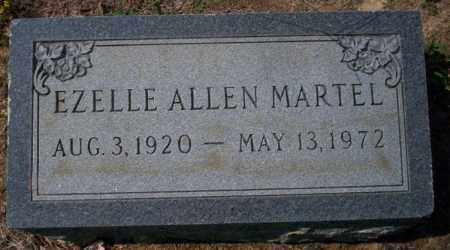 MARTEL, EZELLE ALLEN - Columbia County, Arkansas | EZELLE ALLEN MARTEL - Arkansas Gravestone Photos