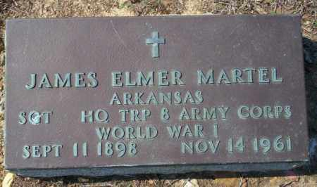 MARTEL (VETERAN WWI), JAMES ELMER - Columbia County, Arkansas | JAMES ELMER MARTEL (VETERAN WWI) - Arkansas Gravestone Photos
