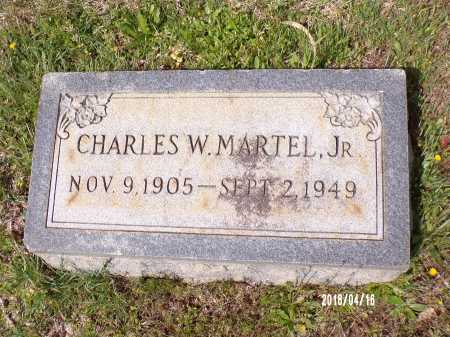 MARTEL JR., CHARLES W - Columbia County, Arkansas | CHARLES W MARTEL JR. - Arkansas Gravestone Photos