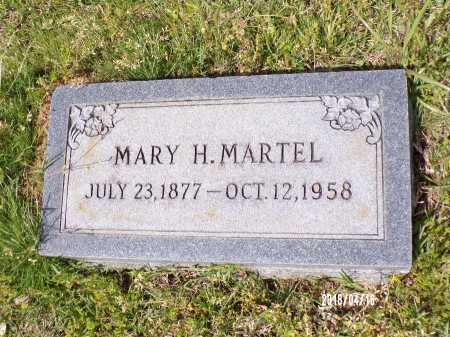 MARTEL, MARY H - Columbia County, Arkansas | MARY H MARTEL - Arkansas Gravestone Photos