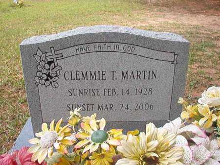 MARTIN, CLEMMIE T - Columbia County, Arkansas | CLEMMIE T MARTIN - Arkansas Gravestone Photos