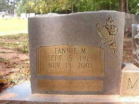 MARTIN, FANNIE M - Columbia County, Arkansas | FANNIE M MARTIN - Arkansas Gravestone Photos